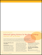 Advanced Lighting Solutions for Retrofitting Buildings